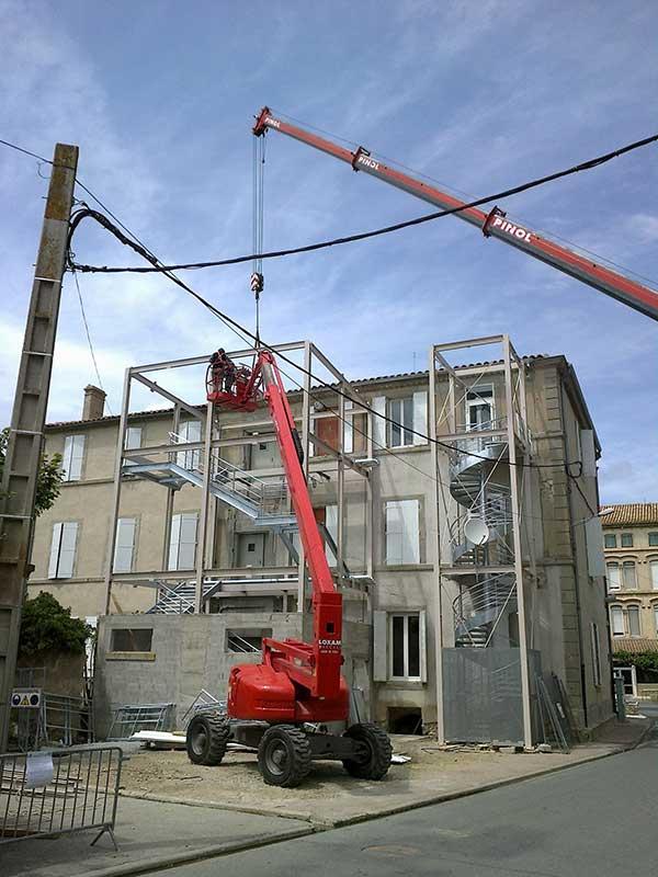 castan-chantier-sécurité-ossature-métal