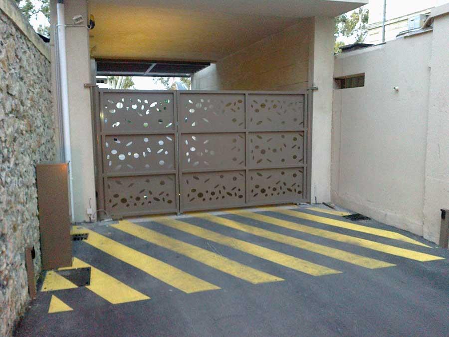 entrée-securisée-parking-ouverture-automatique